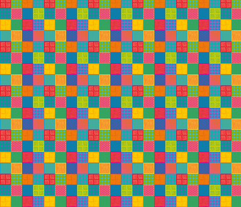 popsquares_2 fabric by jorz on Spoonflower - custom fabric