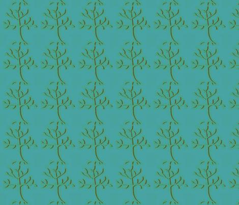 tree-ed fabric by sewdiva on Spoonflower - custom fabric
