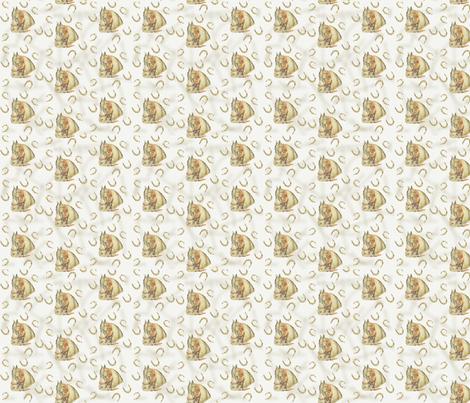 Vintage Horse Sashing fabric by grammak on Spoonflower - custom fabric