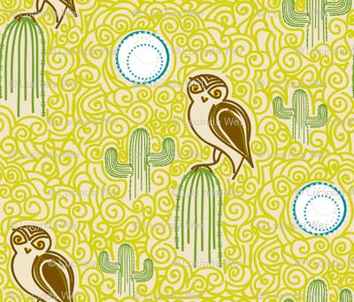 Desert Owl - © Lucinda Wei