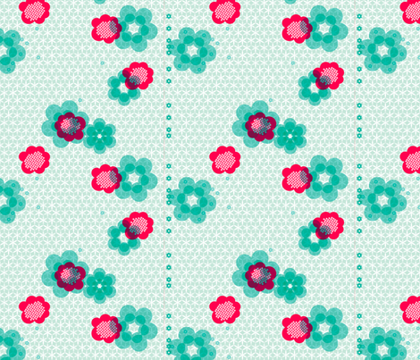 shibori large floral j fabric by fiona_mcdonald_juicyapple on Spoonflower - custom fabric