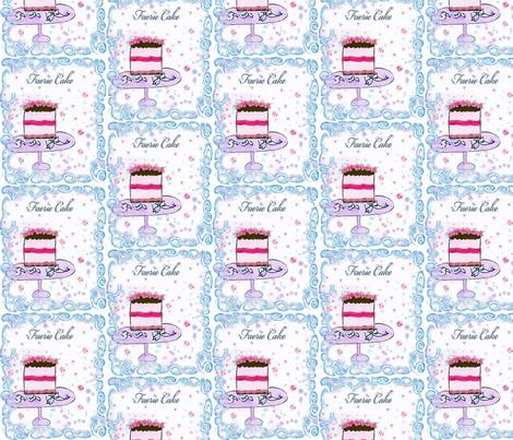 Faerie Cake fabric by karenharveycox on Spoonflower - custom fabric