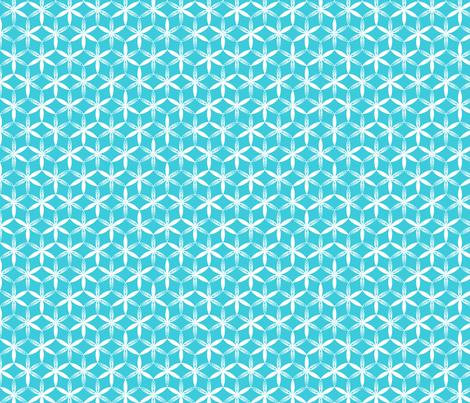 shibori flower circles teal j fabric by fiona_mcdonald_juicyapple on Spoonflower - custom fabric