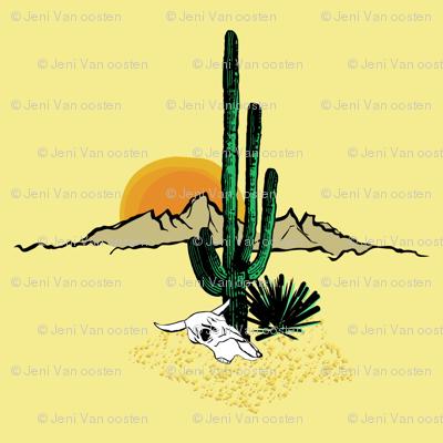 Under the desert sun