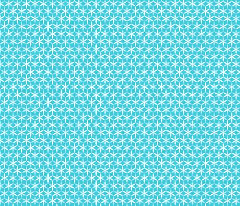 shibori flower circles small teal j fabric by fiona_mcdonald_juicyapple on Spoonflower - custom fabric