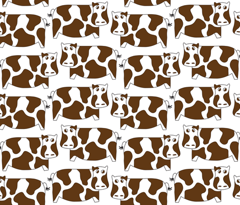 CamouflageCow fabric by nikgriffiths on Spoonflower - custom fabric