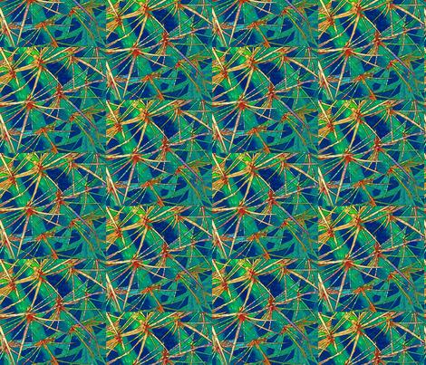 Wild Cactus fabric by nancysgardenak on Spoonflower - custom fabric
