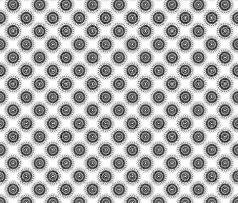 doily (black/white) fabric by eviltwinempire on Spoonflower - custom fabric