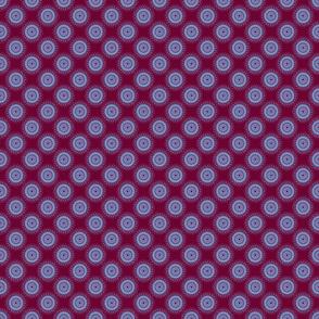 Doily (purple/blue)