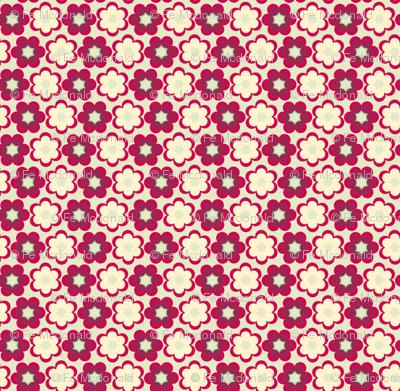 shibori small floral medium