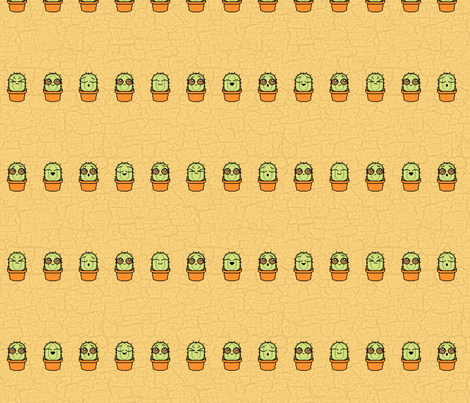 the Prickles fabric by leighr on Spoonflower - custom fabric