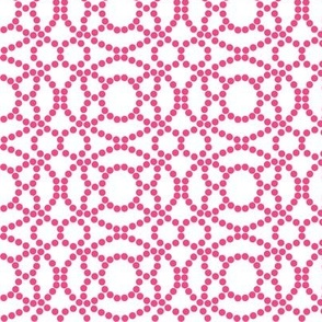 Pink and White Abstract Design Large © ButterBoo Designs 2009