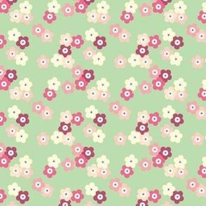 Green Cherry Blossoms © ButterBoo Designs 2010