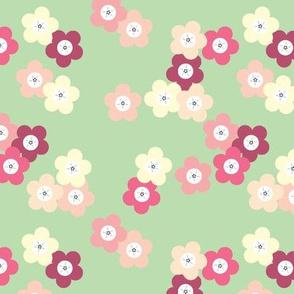 Green Cherry Blssoms Large © ButterBoo Designs 2010