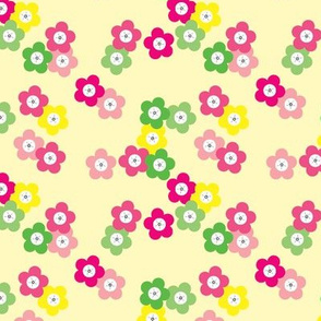 Yellow Cherry Blossoms © ButterBoo Designs 2010