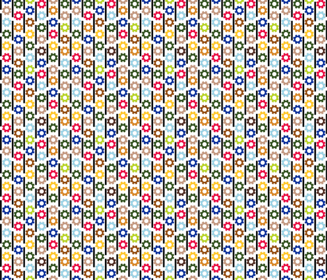 Zap Stripe fabric by evenspor on Spoonflower - custom fabric