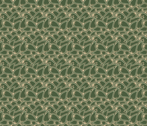 Paisley Camo Pattern fabric by tortagialla on Spoonflower - custom fabric