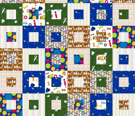 Zap! Quilt fabric by evenspor on Spoonflower - custom fabric