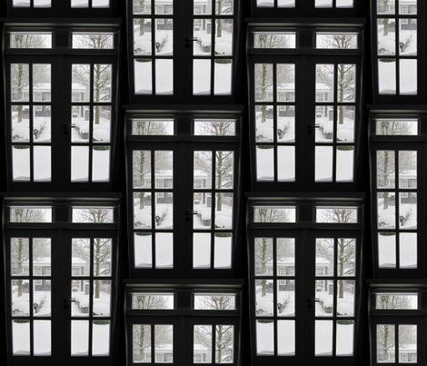 winter window fabric by hante on Spoonflower - custom fabric