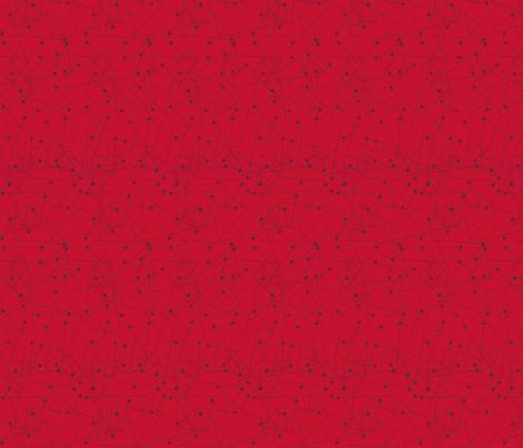 Arrows on Red fabric by siya on Spoonflower - custom fabric