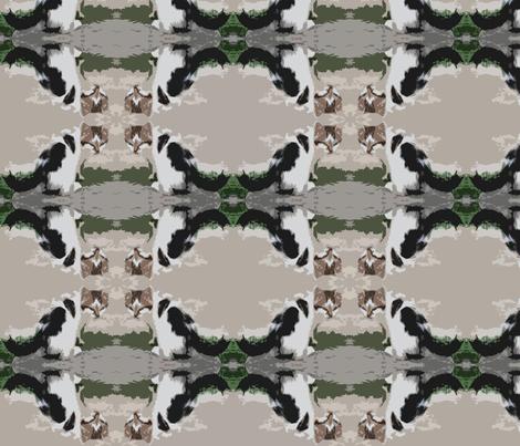kitten camo fabric by liquidambar on Spoonflower - custom fabric