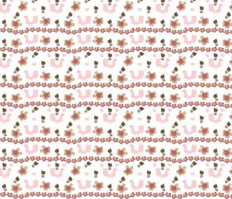 Fancy Lady fabric by sbd on Spoonflower - custom fabric