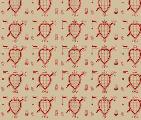 I Heart Ezili fabric by nalo_hopkinson on Spoonflower - custom fabric