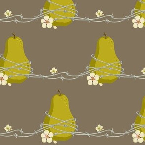 Barbed Wire Pear
