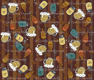 Stuff for Dudes- Beer & pretzels