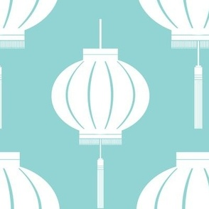 Lantern Reverse (Koi Pond)