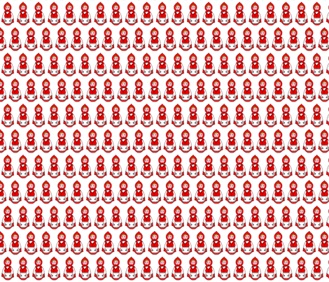 chaperon rouge mini fabric by elfyne on Spoonflower - custom fabric