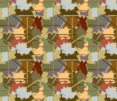 What knitting needles? fabric by grammak on Spoonflower - custom fabric