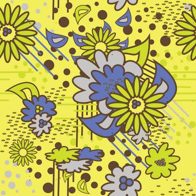 Floral Pow at Noon