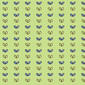 Sprouts in Rows