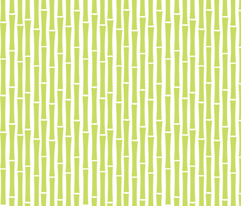 Bamboo Too (Midori) fabric by blackpomegranate on Spoonflower - custom fabric