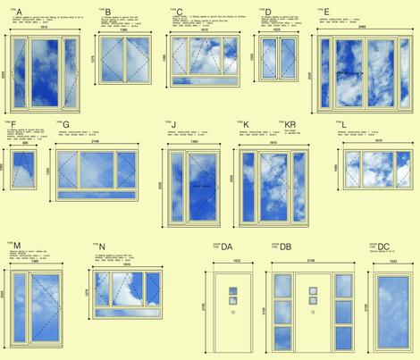 window_shedule_flat fabric by tonya on Spoonflower - custom fabric