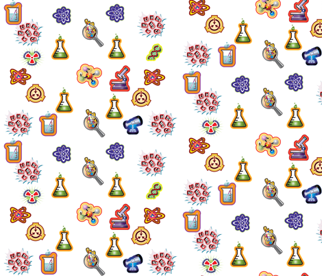 Mad science fabric by dante on Spoonflower - custom fabric