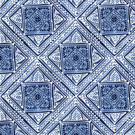 Amuletii Leaf fabric by spellstone on Spoonflower - custom fabric
