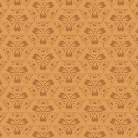 Autumn Hearts © 2010 Gingezel™ Inc. fabric by gingezel on Spoonflower - custom fabric