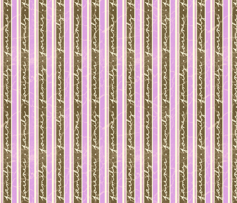 FamilyStripes-Purple fabric by tammikins on Spoonflower - custom fabric