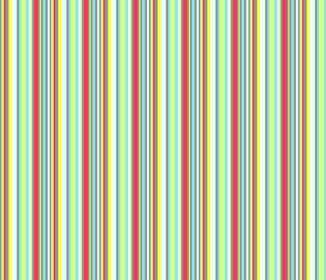 Summer Stripe fabric by may_flynn on Spoonflower - custom fabric