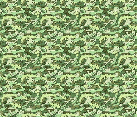 Camouflage fabric by lord-orlando on Spoonflower - custom fabric