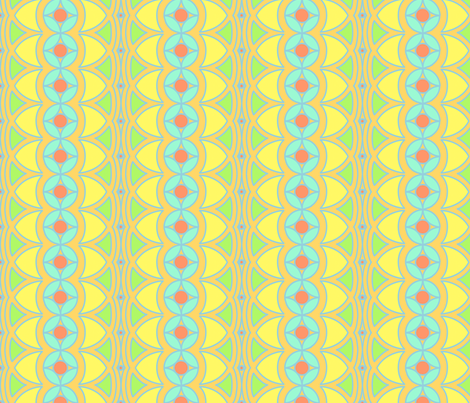 DecoBrightStripes fabric by tammikins on Spoonflower - custom fabric