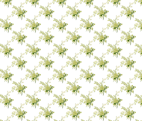 Floral BBQ fabric by casa_de_hines on Spoonflower - custom fabric