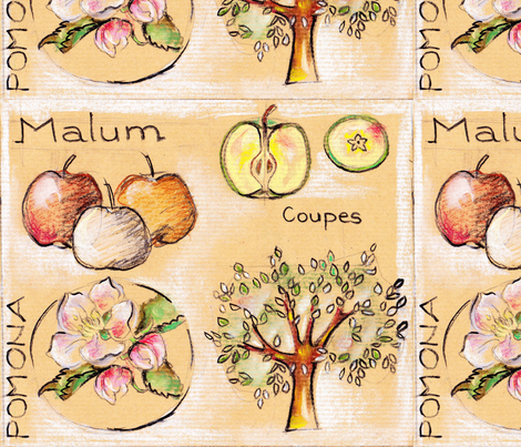 pomme3 fabric by monique_caffet on Spoonflower - custom fabric