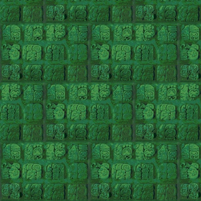 Palenque_glyphs-green-posterized