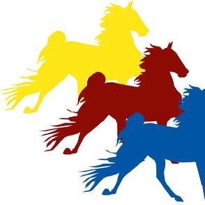 Tri-Color Saddlebred