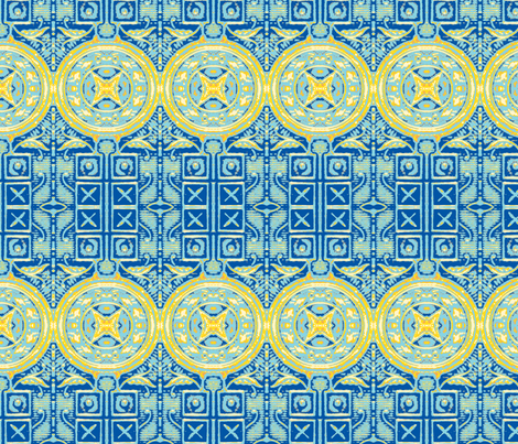 Texas Border fabric by frances_hollidayalford on Spoonflower - custom fabric