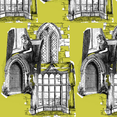 Cloisters fabric by bexia on Spoonflower - custom fabric