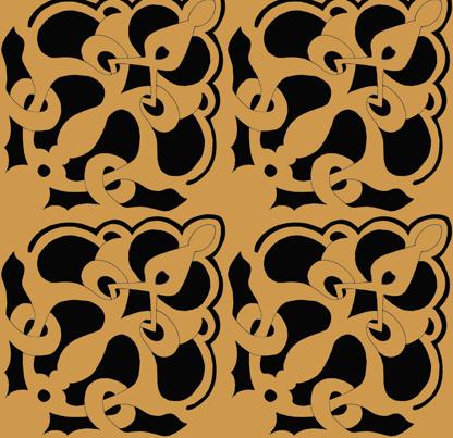 Arabesque fabric by gabindy on Spoonflower - custom fabric